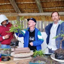 Bonsai training with Rudi Adam