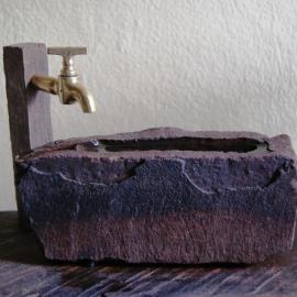 Water stone Suiseki